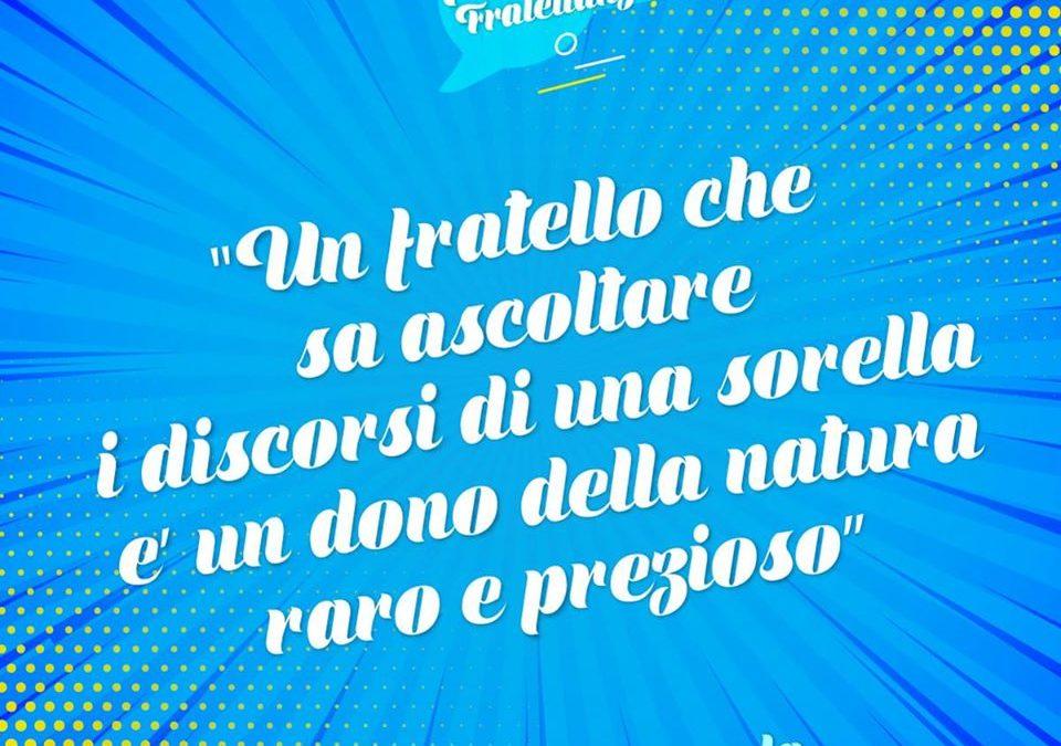 La Fratellanza – PAROLE DI FRATELLANZA #12