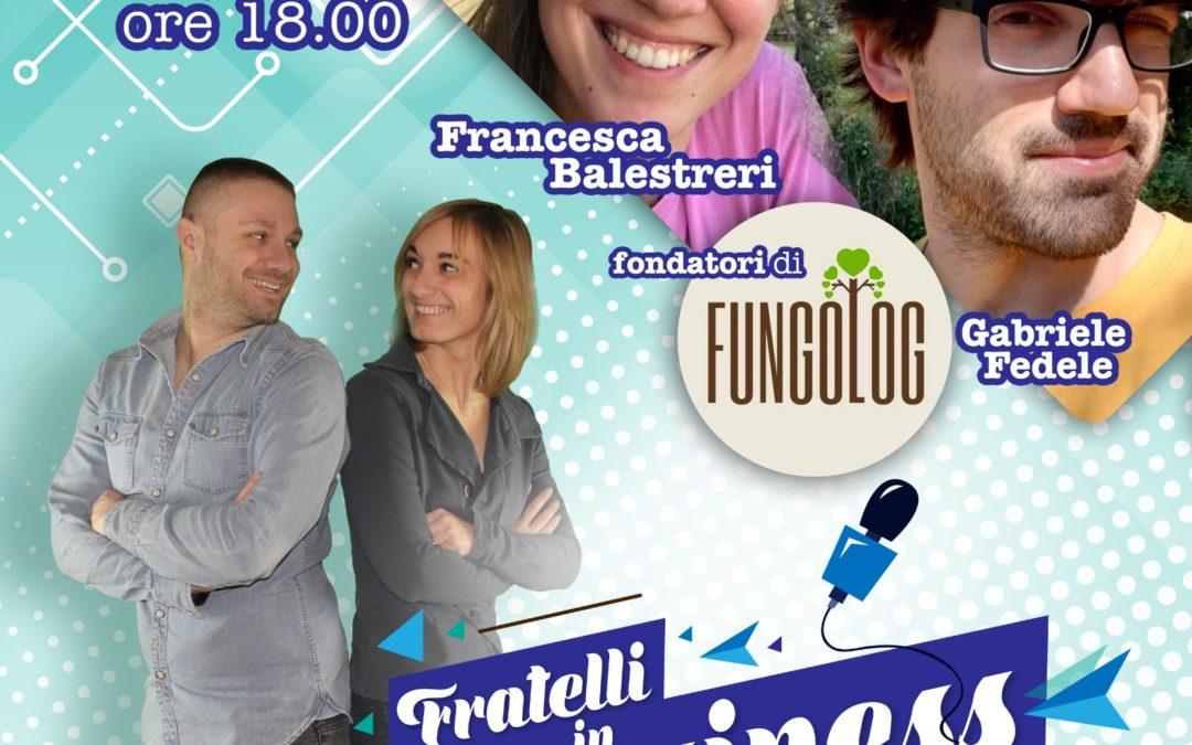 """INTERVISTA A FRANCESCA e GABRIELE, soci della Startup Agricola """"FUNGOLOG"""""""