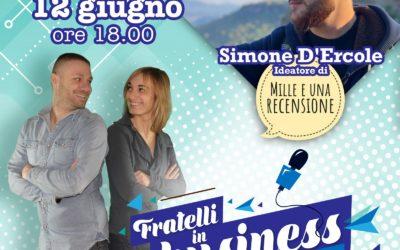 """INTERVISTA A SIMONE D'ERCOLE – Ideatore di """"Mille e una recensione"""""""